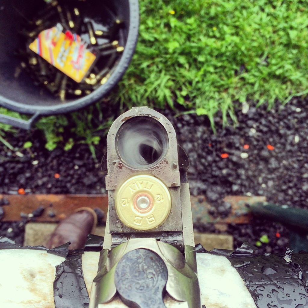 Day 12 - looking down the barrel of a gun